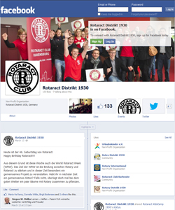 Rotaract Distrikt 1930 Facebook